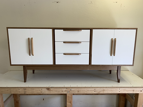 (W65) Reverse Two Tone Credenza / Buffet - Free Shipping!
