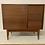 "Thumbnail: (Mah18) 36"" Mid Century Style 3 Drawer / Single Door Cabinet - Free Shipping!"