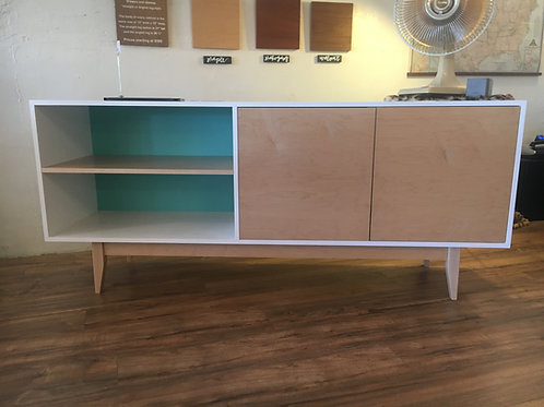 (M5) Custom Color 2 Door with side shelf - Free Shipping!