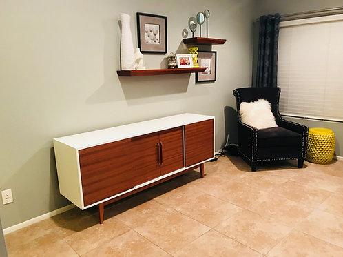 (Mah26) Custom Build White and Mahogany 4 Door - Straight Leg