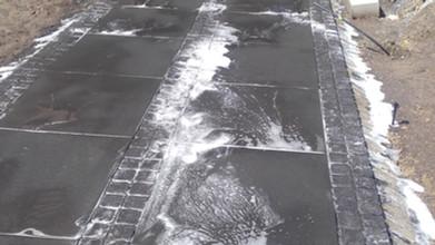 Mycie chodnika