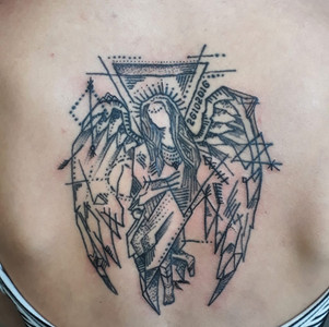angel-fineline-tattoo