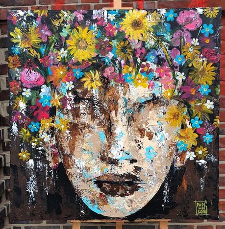 Blumen im Kopf