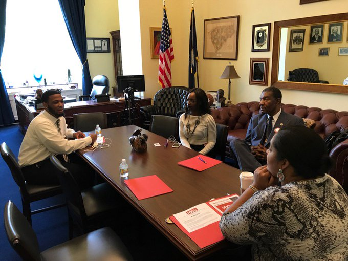 HBCU Collective meeting with Congressman James Clyburn staffer