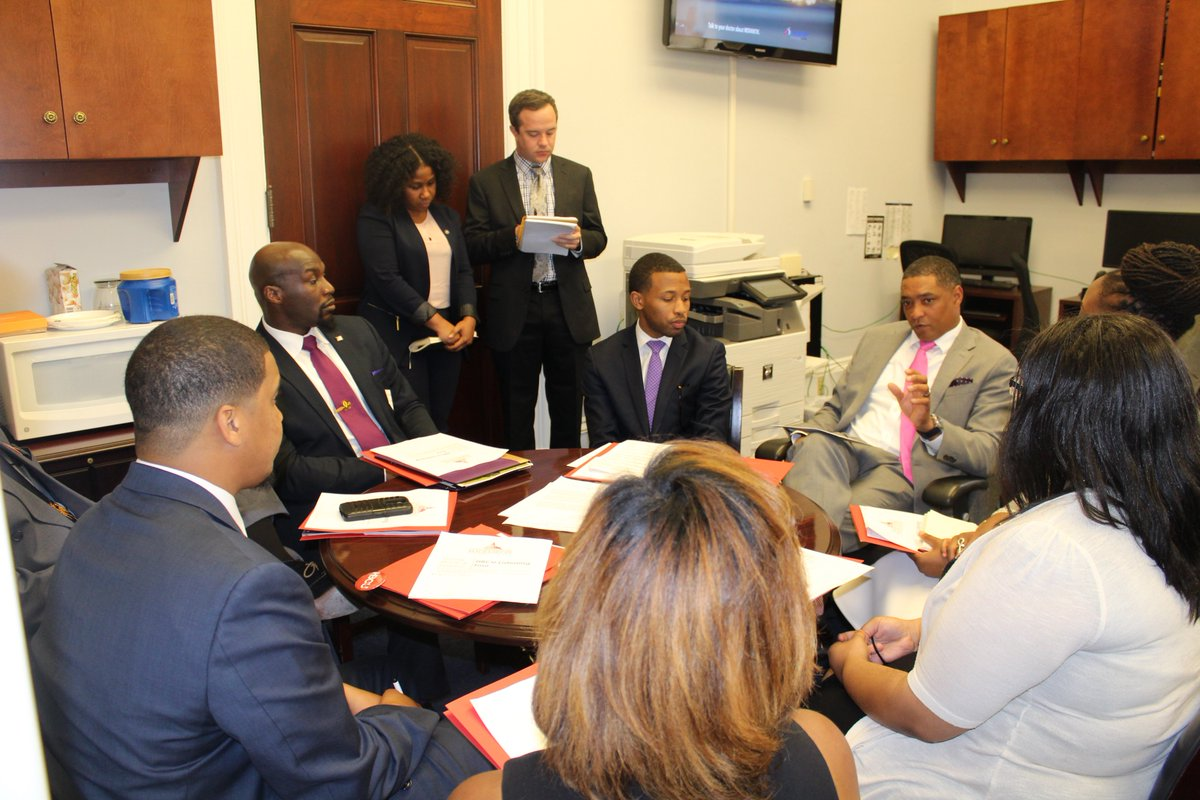 HBCU Collective meeting with Congressman Cedric Richmond