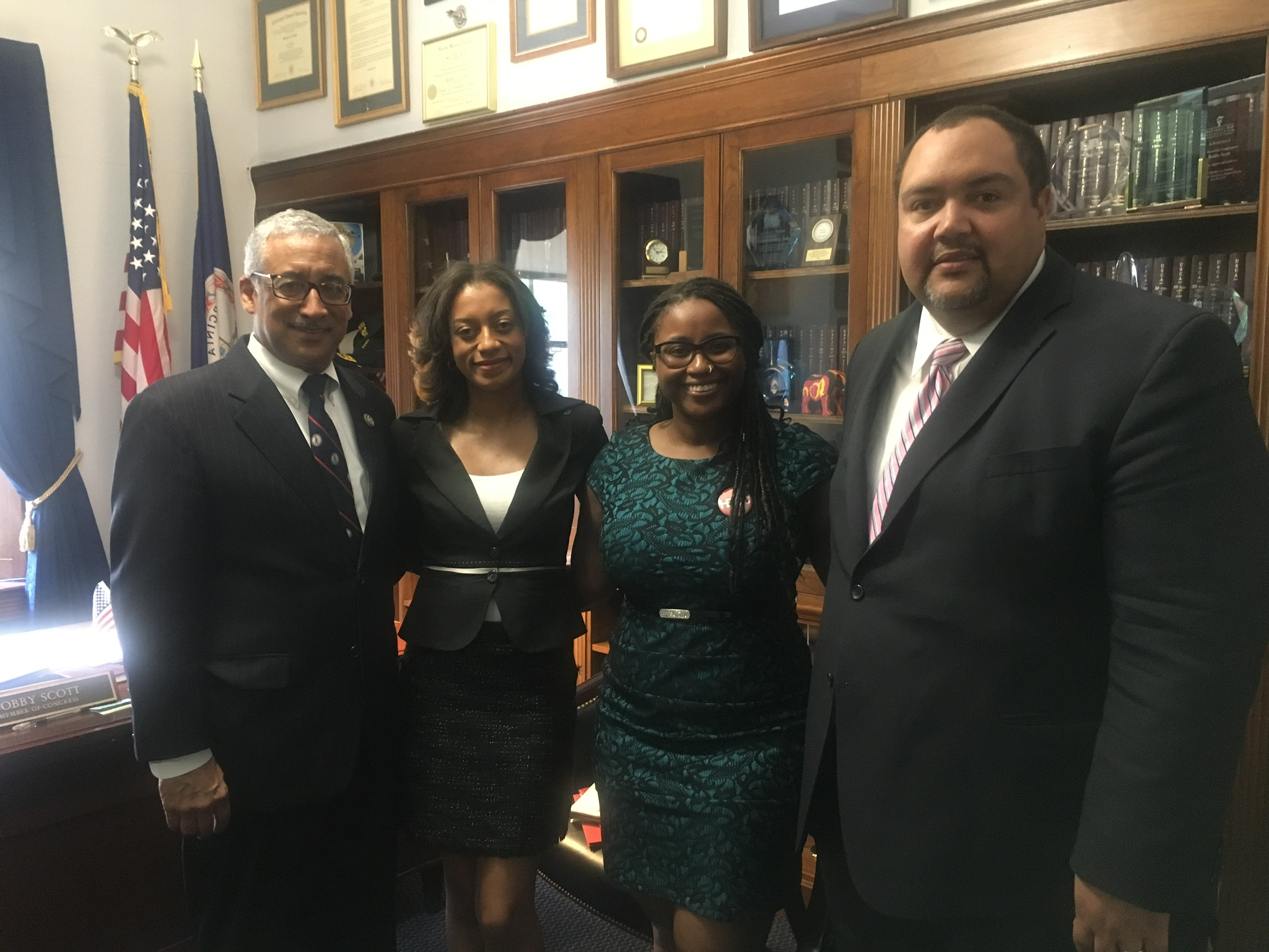 HBCU Collective meeting with Congressman Bobby Scott