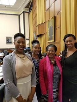 HBCU Collective meeting with Congresswoman Barbara Lee
