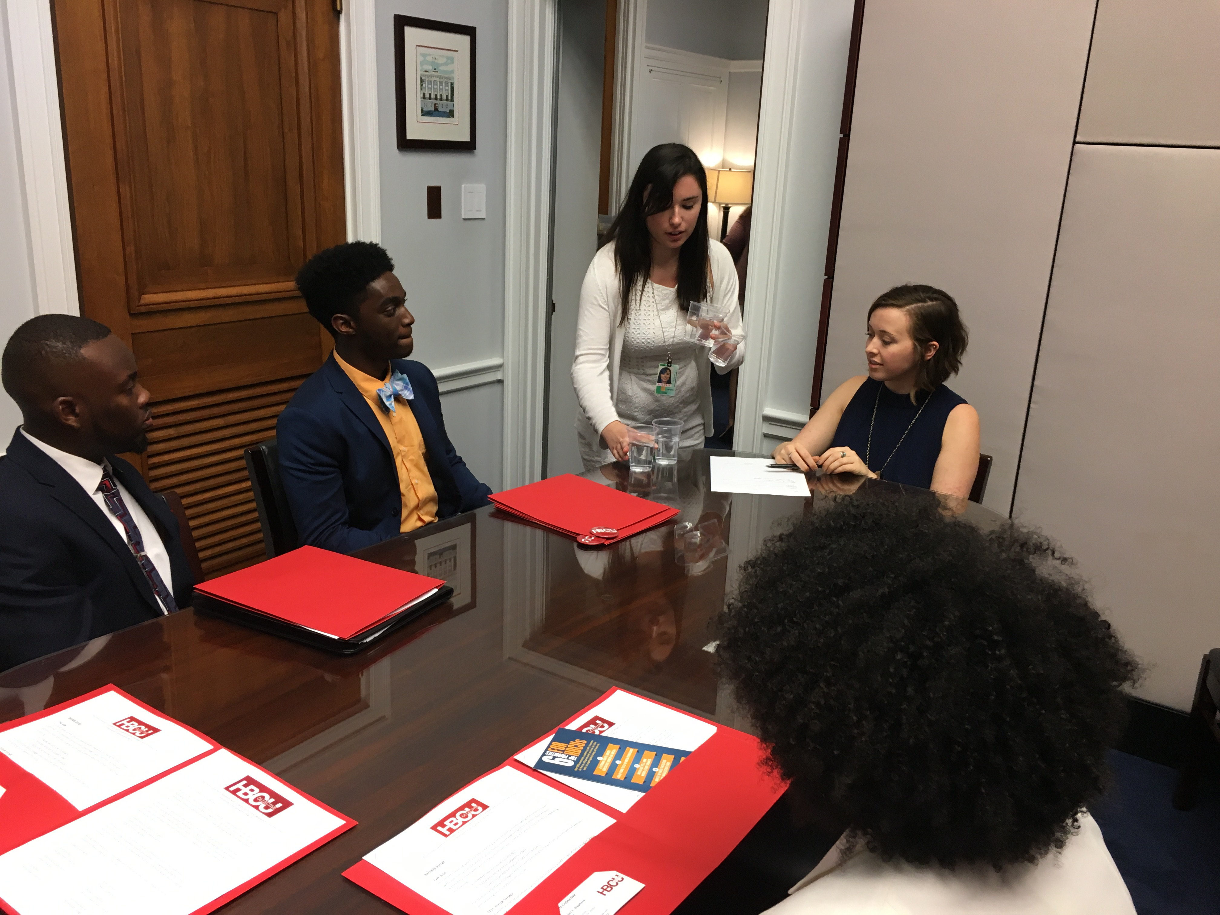 HBCU Collective meeting with Congressman David Price_s Staff