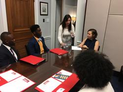HBCU Collective meeting with Congressman David Price_s Staff