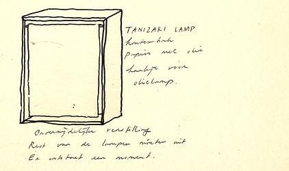 Tanizakilamp schets.jpg