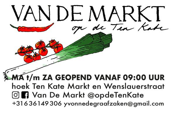 Visitekaartje Van De Markt Op De Ten Kat