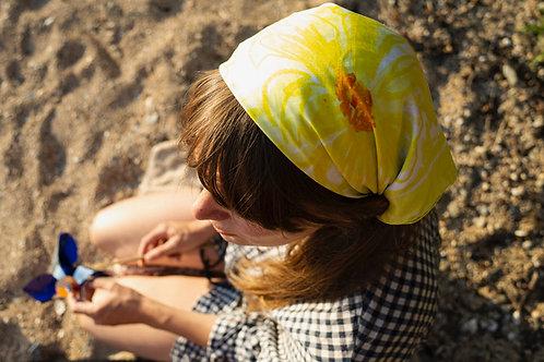 DARN x SSAW Summer silk scarf