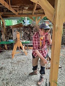 Rosie Bristow - spinning straw into gold