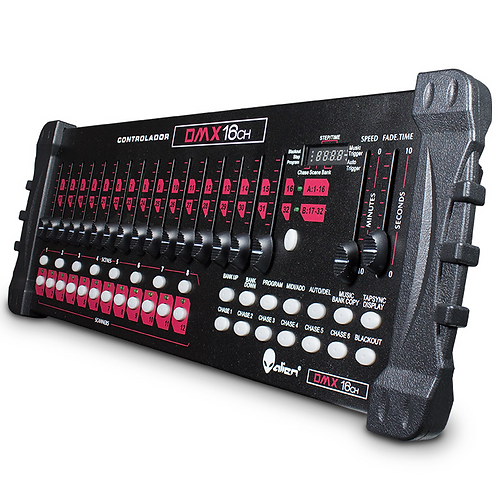 CONSOLA DMX 384 CANALES RED