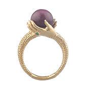 anel cristalomancia