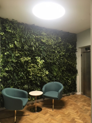 Green Wall Pause Area