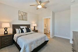 2 bedroom - master bedroom