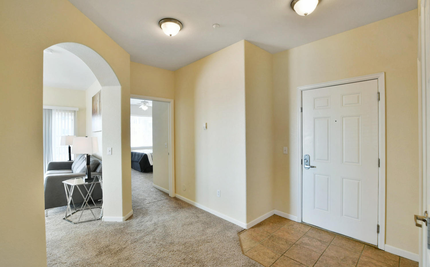 Two bedroom hallway