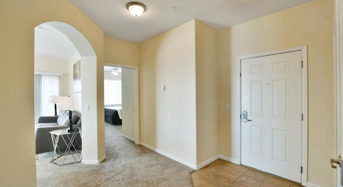Two bedroom hallway