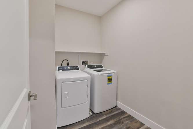 One bedroom - laundry
