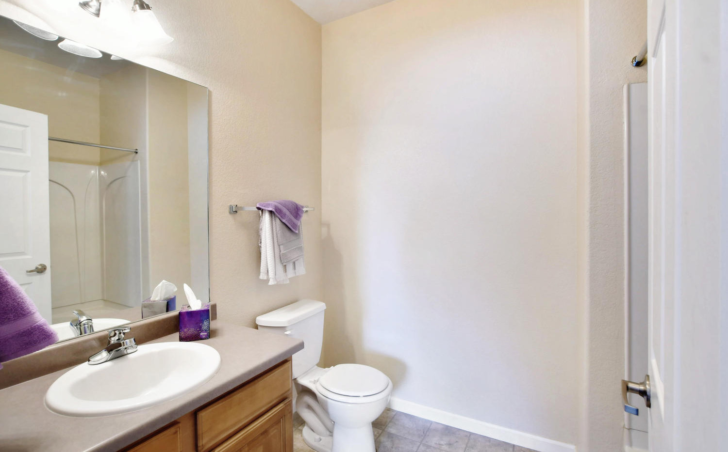 Two bedroom bathroom