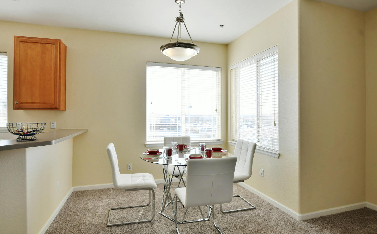 Two bedroom dining area
