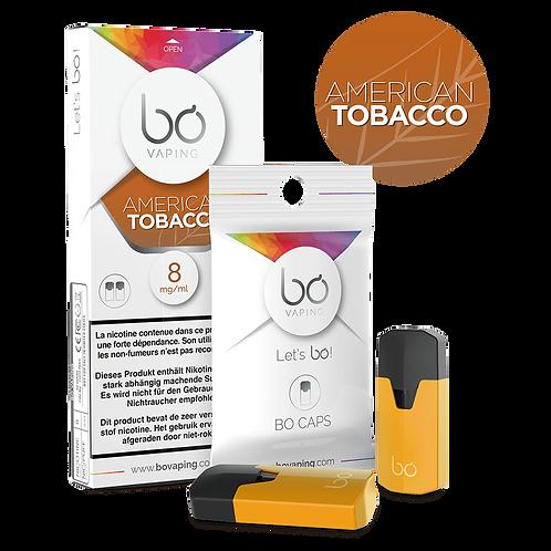 BO Caps Amerikanischer Tabak (2er Pack)