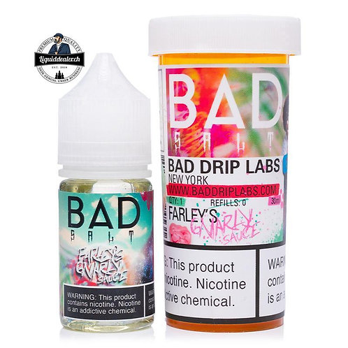 FARLEY'S GNARLY SAUCE BY BAD SALT 30ML