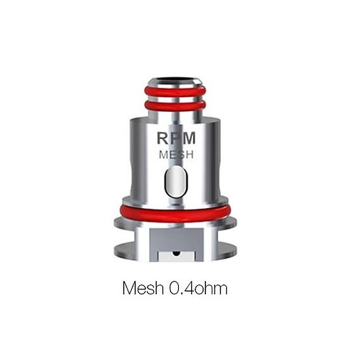 5 x Ersatzverdampferköpfe RPM40 für SMOK Fetch Pro, 0.4ohm Mesh