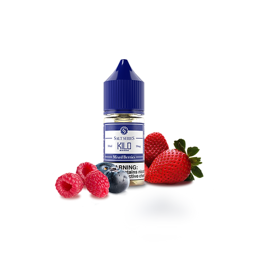 Mixed Berry Salt Series by KILO Liquids