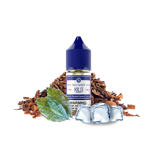 Menthol-Tabacco Salt Series by KILO Liquids