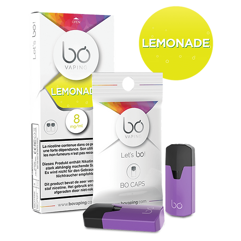 BO Caps Limonade (2er Pack)