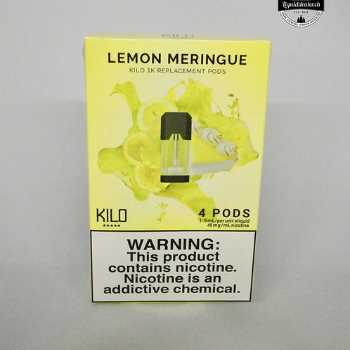 LEMON MERINGUE REPLACEMENT PODS FOR 1K ULTRA BY KILO
