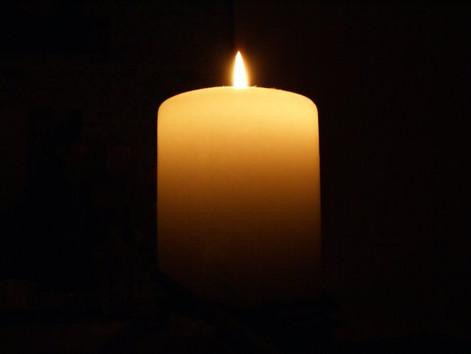 Die Kerze - für reine Gedanken und Konzentration, nicht nur in der Weihnachtszeit
