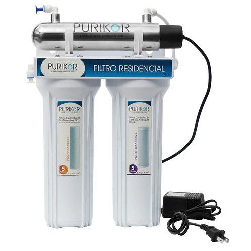 Sistema de Ultrafiltración punto de uso