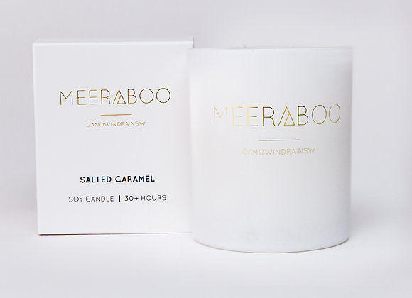 Meeraboo Soy Candle - Salted Caramel