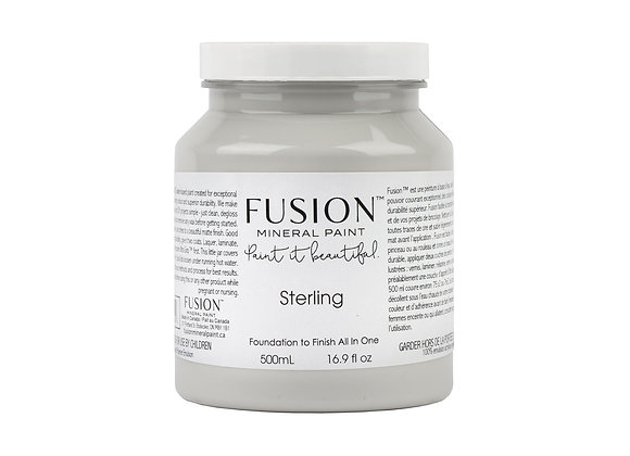 Fusion Mineral Paint - Sterling - 500ml