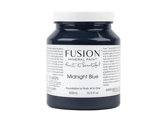 Fusion Mineral Paint - Midnight Blue - 500ml