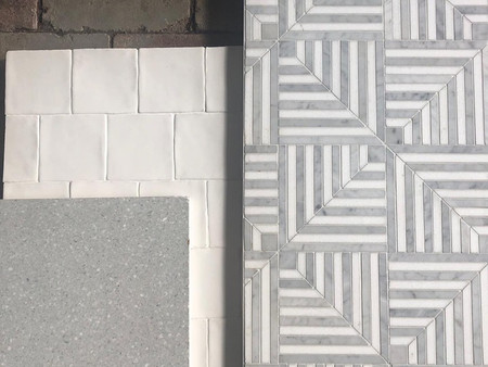 Italian tiles available at K and H Interiors.