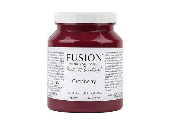 Fusion Mineral Paint - Cranberry - 500ml