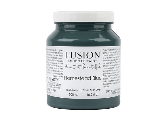 Fusion Mineral Paint - Homestead Blue - 500ml