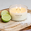 Thumbnail: Meeraboo Soy Candle - Gold Lid - Coconut Lime