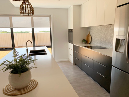Kitchen cabinetry supplied and installed by K & H Interiors.