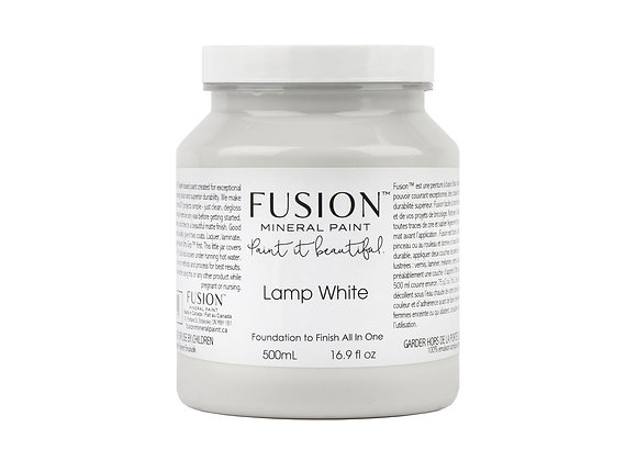 Fusion Mineral Paint - Lamp White - 500ml