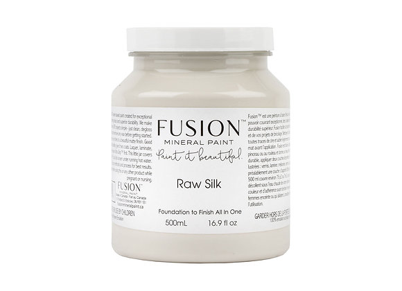 Fusion Mineral Paint - Raw Silk - 500ml