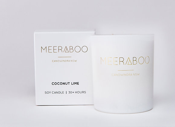 Meeraboo Soy Candle - Coconut Lime