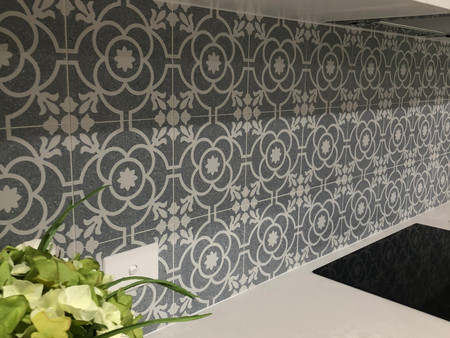 Kitchen renovation by K & H Interiors.