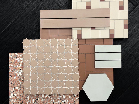 Italian tiles available at K & H Interiors.