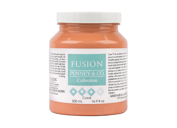Fusion Mineral Paint - Coral - 500ml