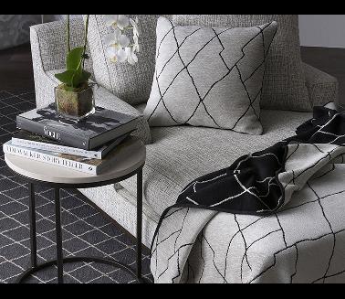Mokum fabrics available at K & H Interiors.